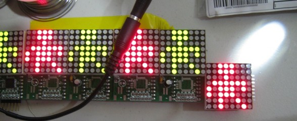 ShiftTrix, An Arduino Powered Marquee. Design Log