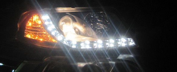 Hacking My Car's Headlights