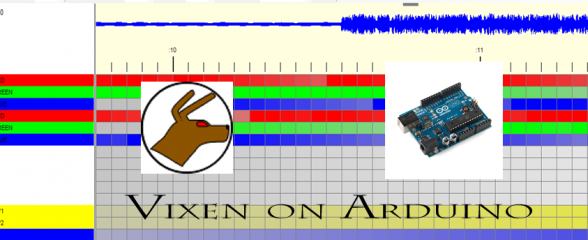 Tutorial: Vixeno, Vixen Sequence Conversion for Arduino
