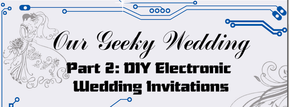 The Geekiest Wedding Invitations Ever